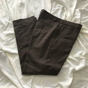 Designer, fully lined wool trousers
